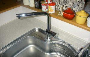 キッチン水栓取替え