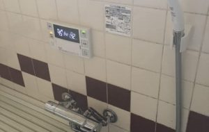 サーモシャワー水栓へ交換