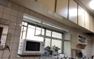 窓枠、吊り戸棚等塗装