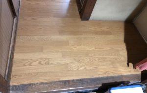 床部分貼り替え修工事