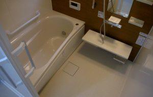 バリアフリー浴室リフォーム