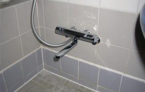 節水シャワー水栓取替え