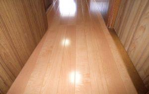 内装 廊下床の改修