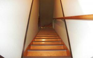 階段ノンスリップ取付