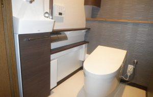 手洗い器付トイレ設置工事