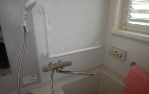 浴室シャワー水栓取替