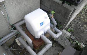 井戸ポンプ取替工事