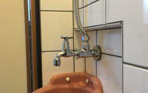 トイレ手洗い器蛇口取替え