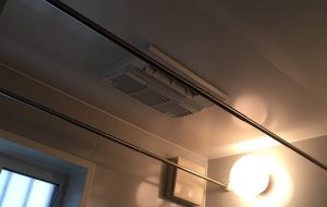 都市ガス 浴室暖房乾燥機交換