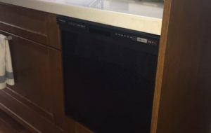 スライドオープン食洗機交換工事