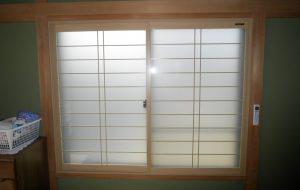 内窓サッシ設置工事