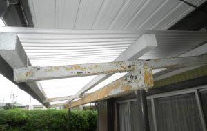 テラス屋根貼替