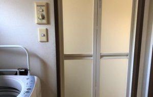 浴室折戸取替